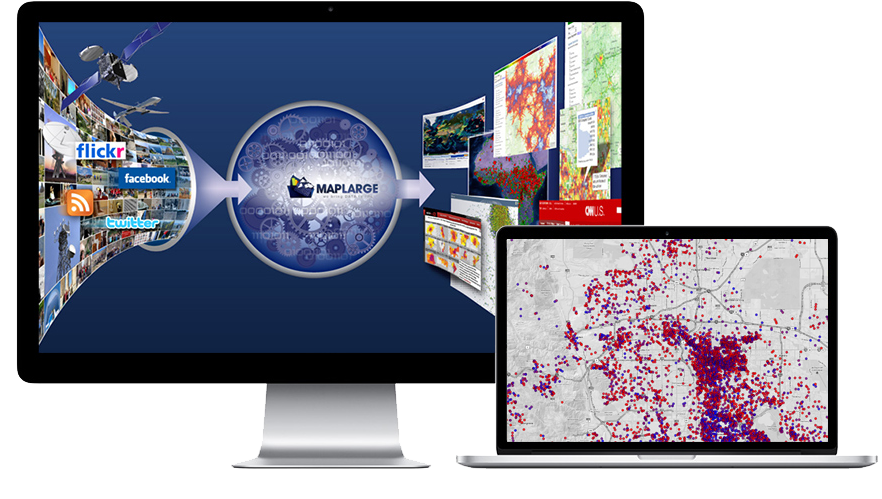 Mapping software for enterprise business
